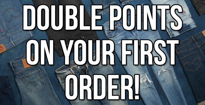 Double Points on your First Order!