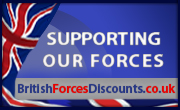 Armed Forces discount card